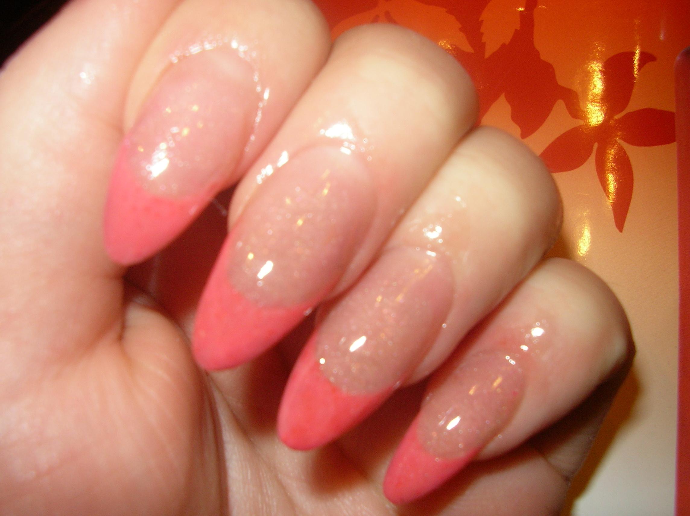 Дизайн ногтей персик фото